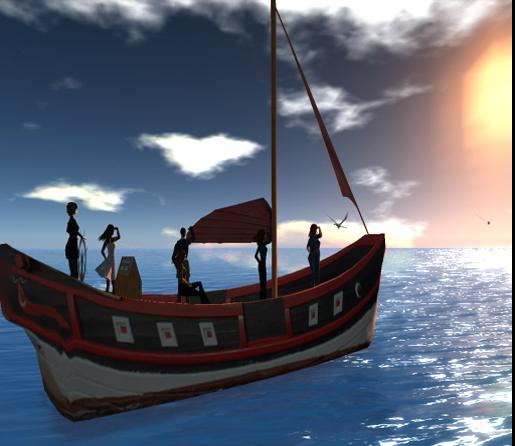 Panthalassa-boat